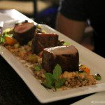 Porcini Crusted Ahi Loin at Beachhouse at the Moana Surfrider Waikiki