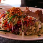 Crispy Thai Salad at Royal Hawaiian Surf Lanai