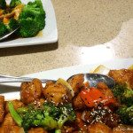 Chicken with Broccoli and Sesame Chicken at P.F. Changs Waikiki