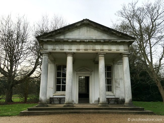 National Trust Osterley House Temble of Pan