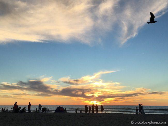 Mission Beach San Diego Sunset
