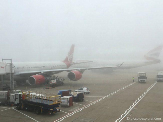 Virgin Atlantic at London Heathrow