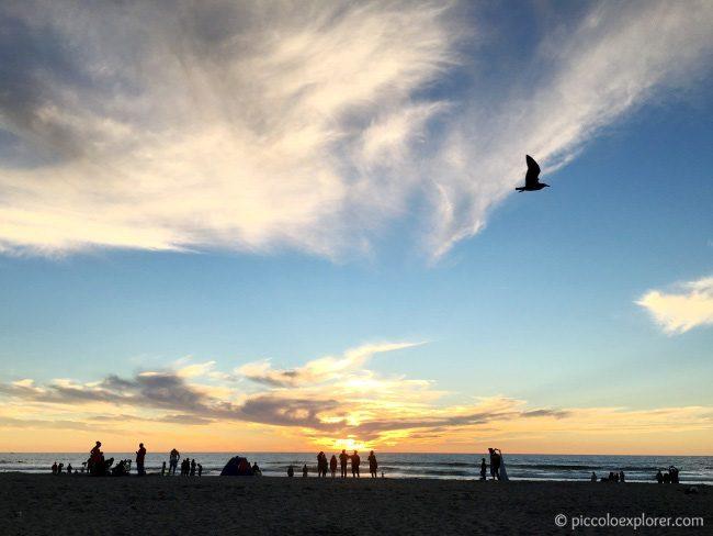 Mission Beach Sunset, San Diego