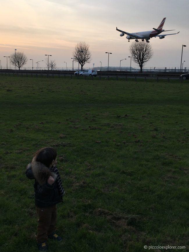 Myrtle Avenue Heathrow Airport Plane Spotting
