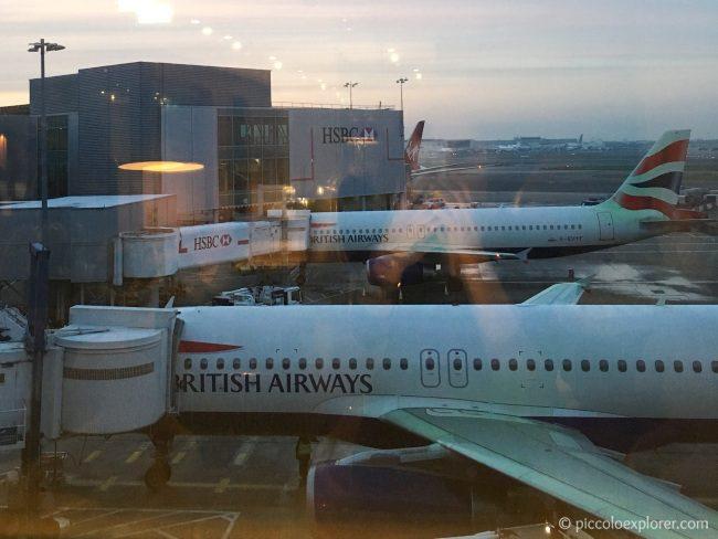 London Heathrow Airport British Airways