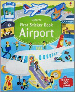 Usborne First Sticker Book Airport