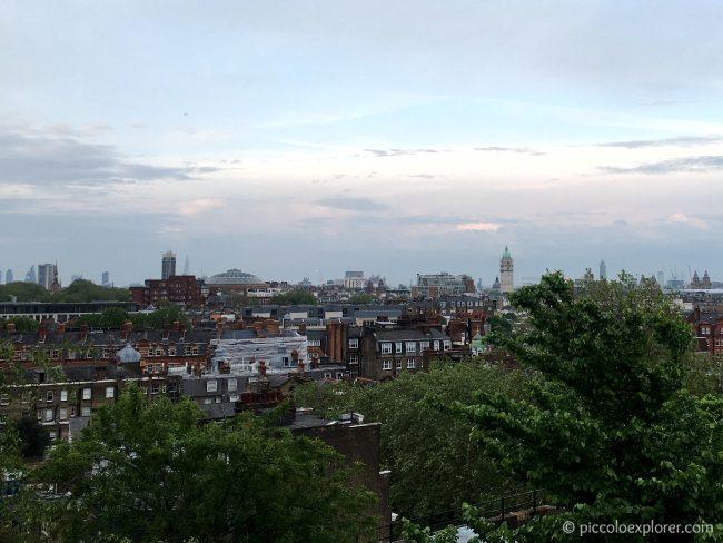 View from Babylon Kensington