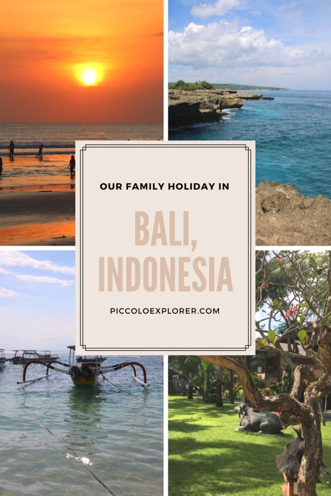 Family Holiday in Bali, Indonesia