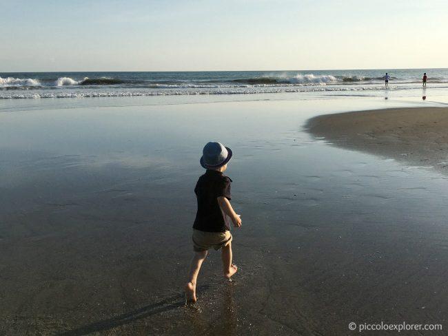Seminyak Beach at Sunset