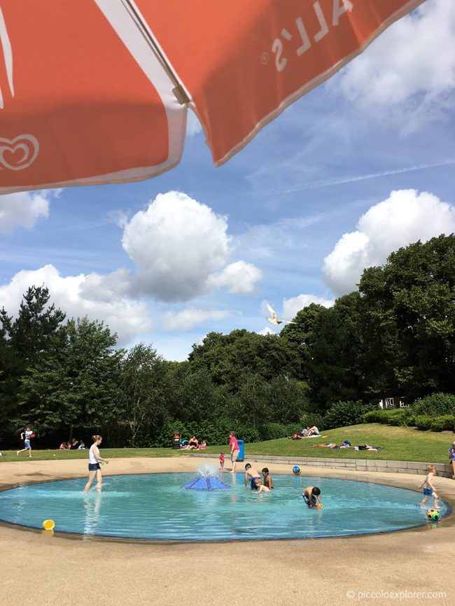 Paddling Pool at Duke Meadows Chiswick