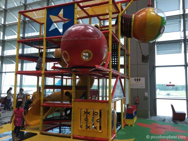 Play Area at Singapore Changi Airport Terminal 3