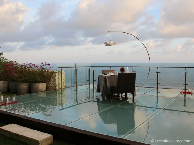 Tirtha Dining Romantic Dinner, Uluwatu Bali