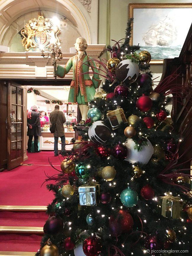 Fortnum & Mason at Christmas, London