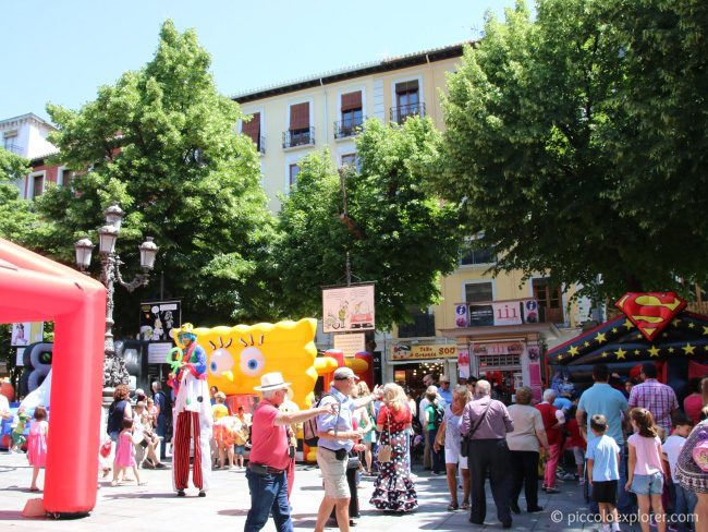 City Fair at Plaza Bib-Ramblas, Granada