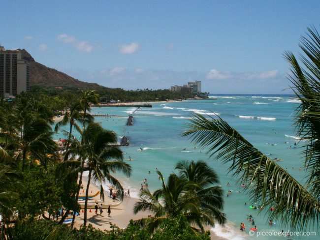 Diamond Head View, Moana Surfrider