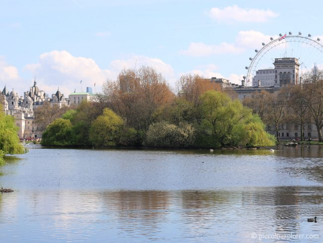 St James's Park, London in Spring