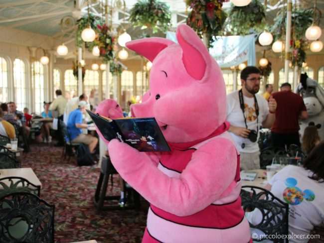 Character Meal at Crystal Palace with Pooh and Friends, Magic Kingdom, Walt Disney World, Florida