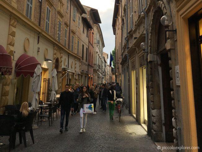 Corso Matteotti, Fano, Italy