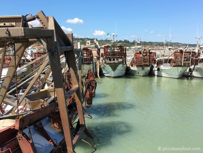 Port of Fano, Marche, Italy