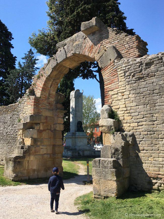 Porta della Mandria, Fano, Marche, Italy