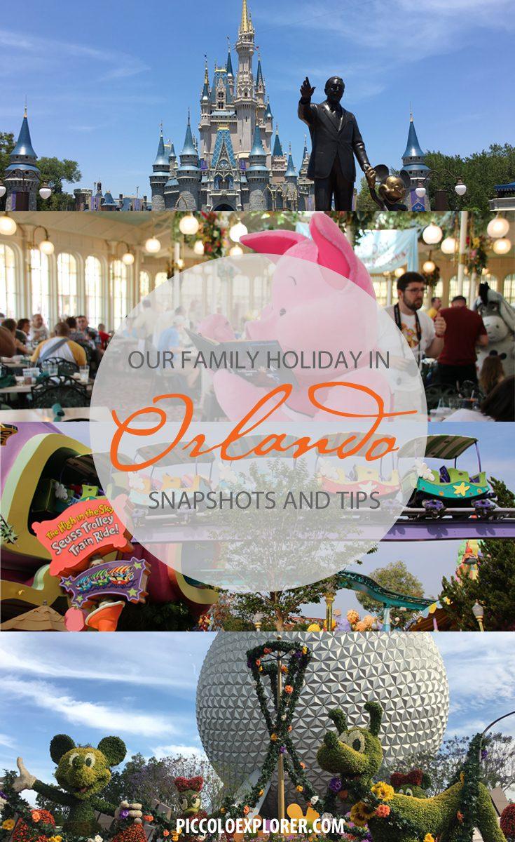 Pin for Later - Family Holiday Snapshots and Tips Orlando, Florida