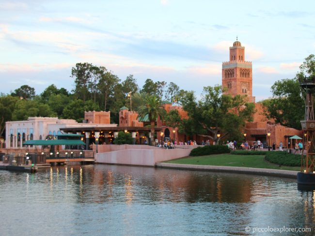 Morocco area at Epcot World Showcase, Walt Disney World, Orlando