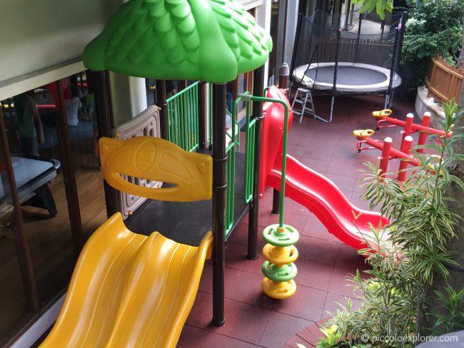 Play area the Kid's Club, Padma Resort Legian