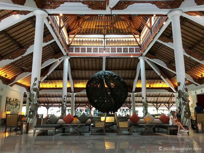 Hotel Lobby at the Padma Resort Legian