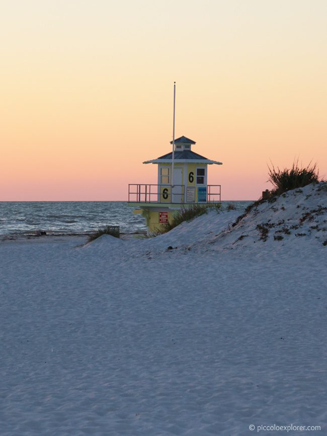 Sunset at Clearwater Beach, Florida