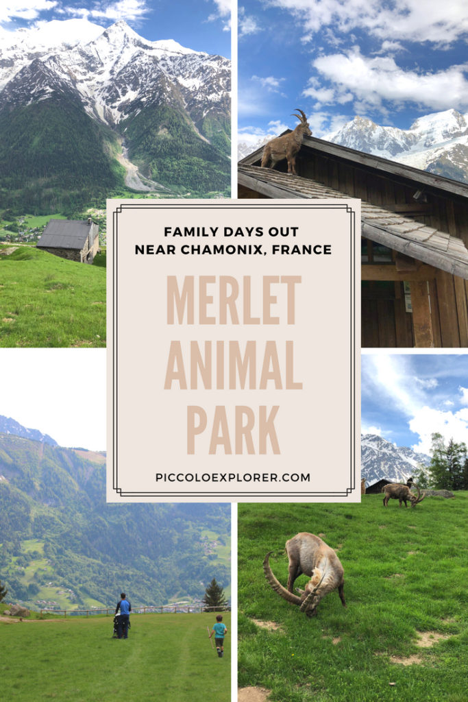 Family Day Out at Merlet Animal Park Les Houches