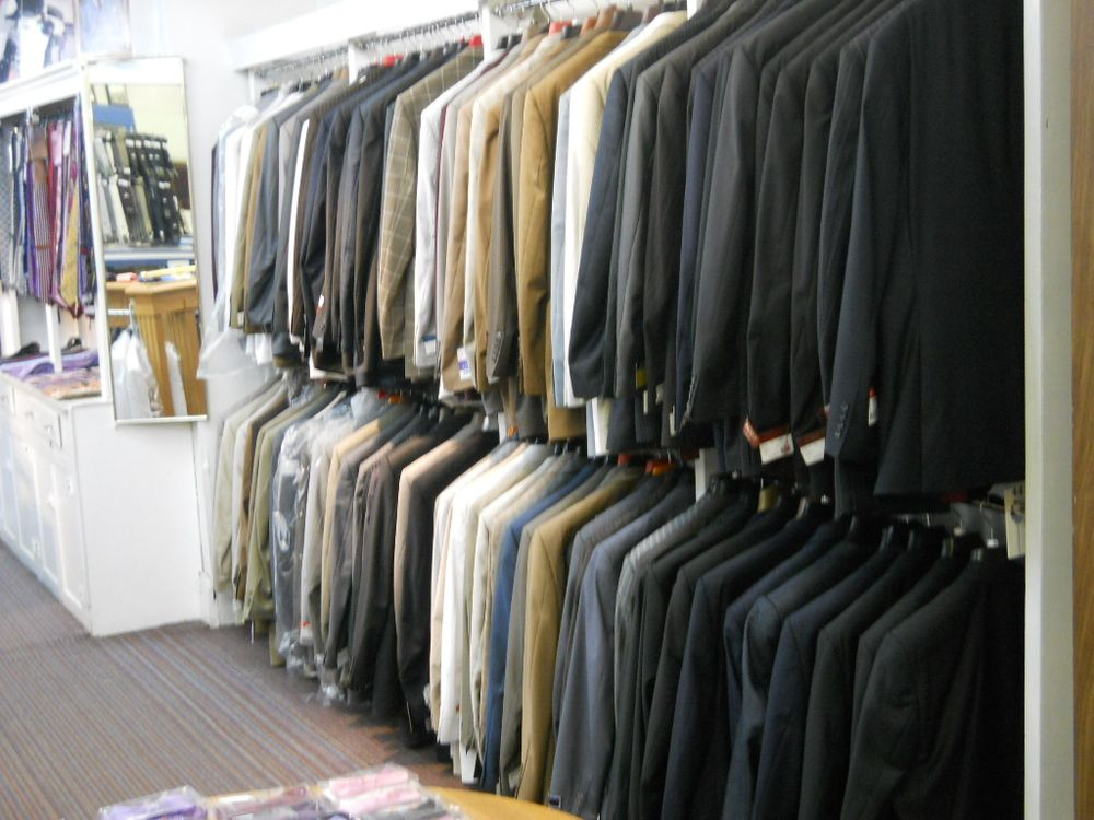 Such a large collection of suits !