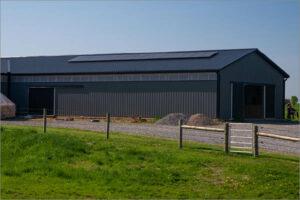 Ray Allen Miller Barn Solar Installation