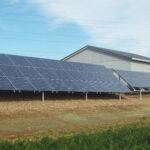 Heritage Center Ground Mount Solar Panels