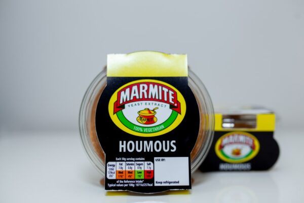 Marmite Houmous is here!  Will you love it or hate it?