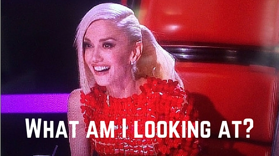 Gwen Stefani Lost it on 'The Voice' Premier