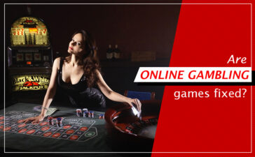 Are online gambling games fixed?