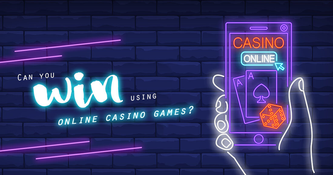 Can you win using online casino games?