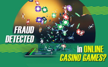How is fraud detected in online casino games?