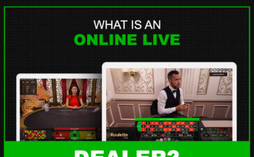 What is online live dealer?