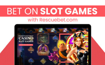 Bet on slot games with Rescuebet.com