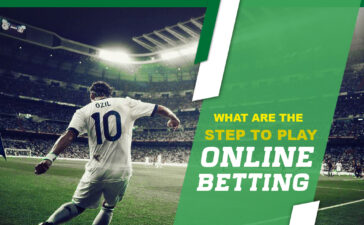 What are the steps to play online betting?