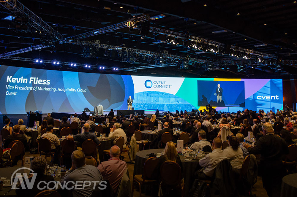AV Concepts Named Official Audio-Visual Partner for Cvent CONNECT 2015