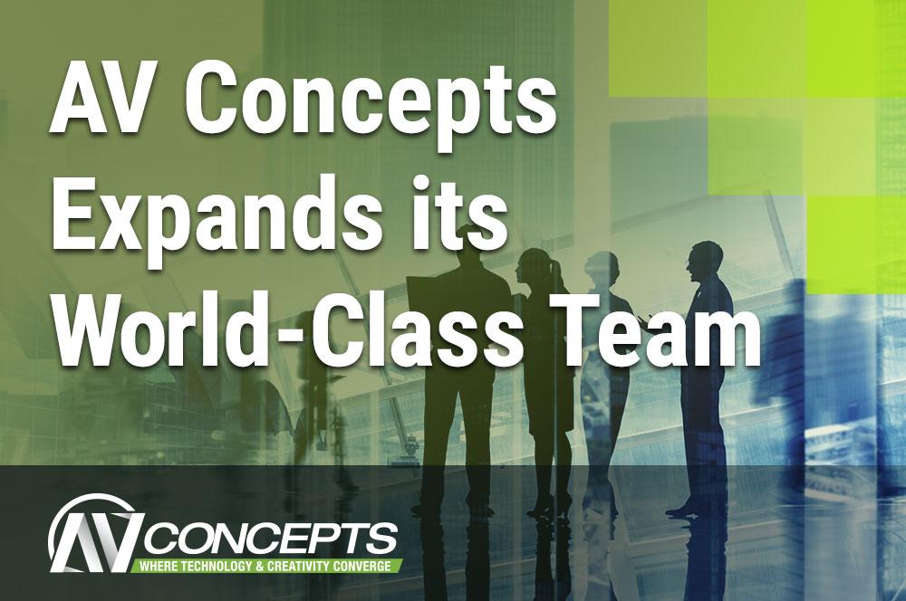 AV Concepts Announces Expansion of World-Class Team