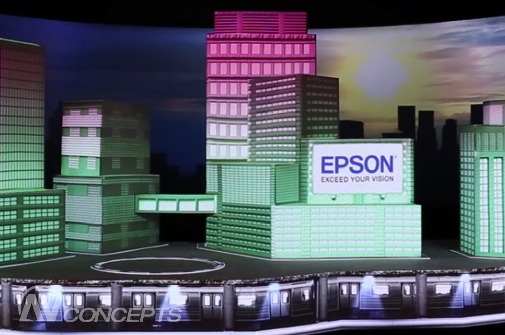 AV Concepts Kicks-Off 2015 at CES with Epson