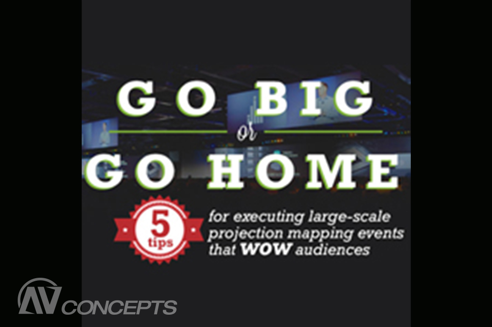 5 Tips for Executing Large-Scale Projection Mapping