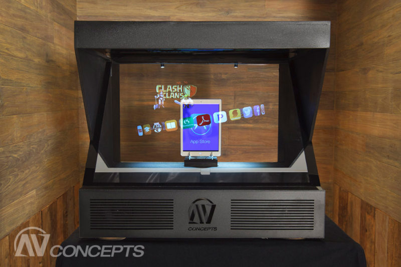 AV Concepts Announces New Line of Holographic Display Units