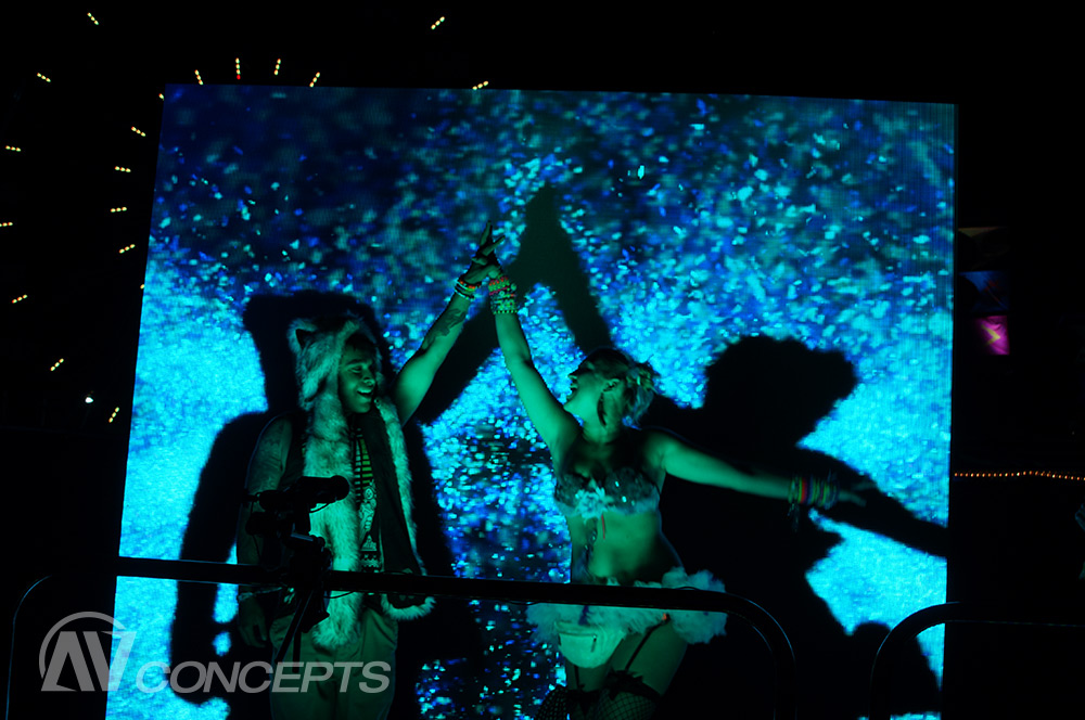EDC Attendees Get Their Groove on with Smirnoff, MKTG & AV Concepts