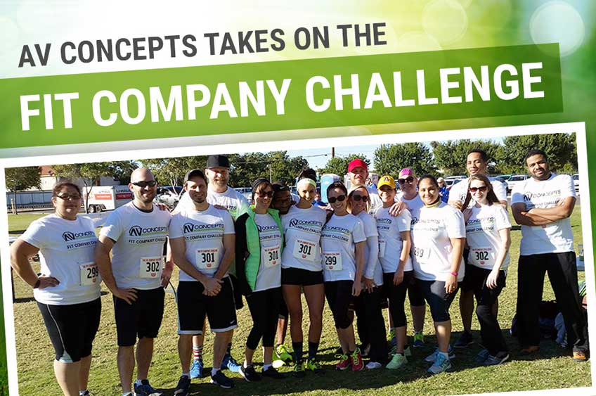 AV Concepts Takes On the Fit Company Challenge