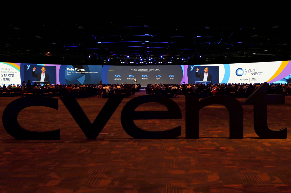 Cvent and AV Concepts Create Immersive General Session Experience