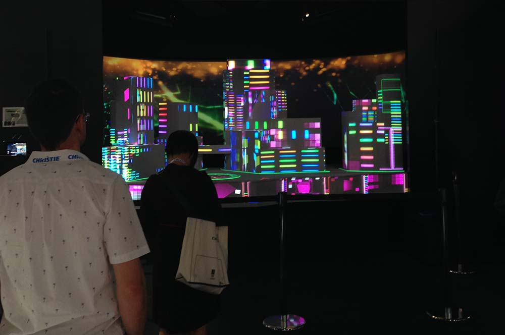 Epson InfoComm Skyline Exhibit